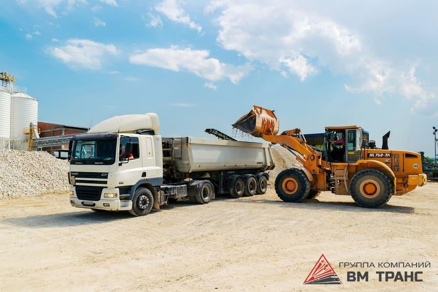 Автомобильные перевозки сыпучих грузов в Новосибирске