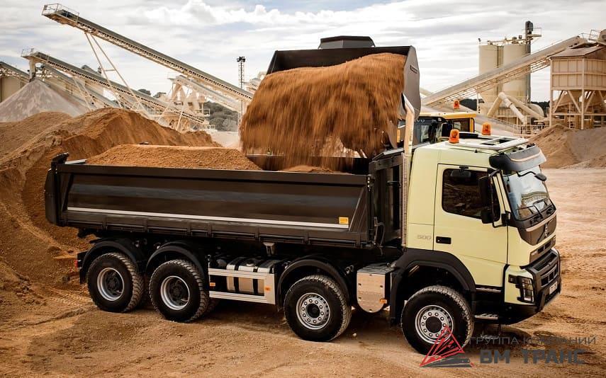 Автоперевозки навалочных грузов в Новосибирске
