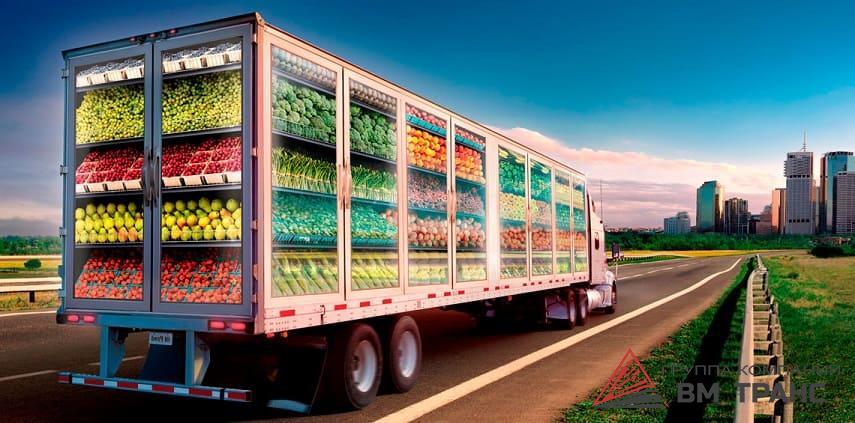 Автомобильные перевозки скоропортящихся грузов в Новосибирске