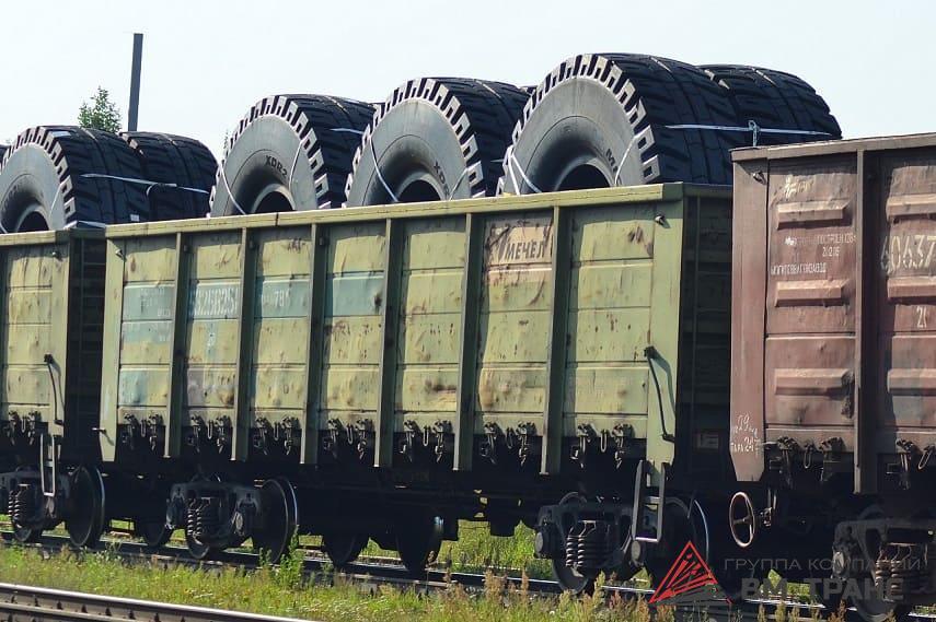 Перевозка грузовых колёс в Новосибирске