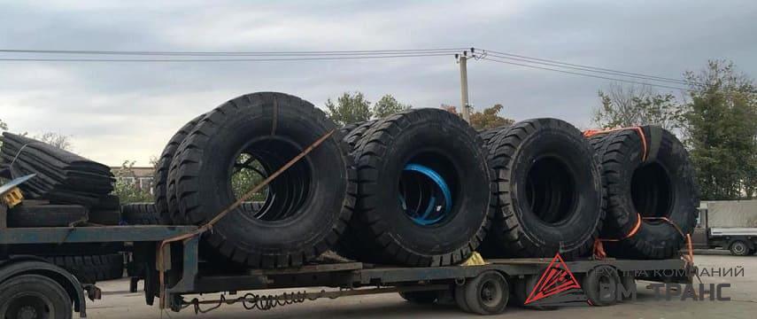 Перевозка шин в Новосибирске