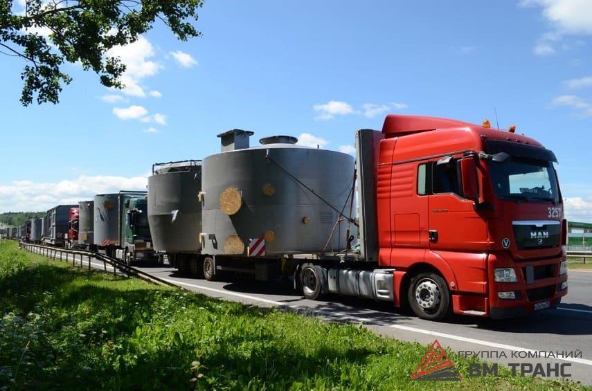 Автомобильные перевозки тяжеловесных грузов в Новосибирске