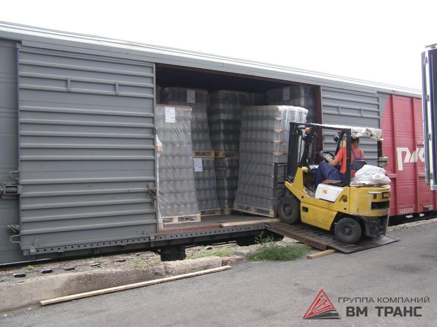 Прием и выгрузка грузов на жд станциях в Новосибирске