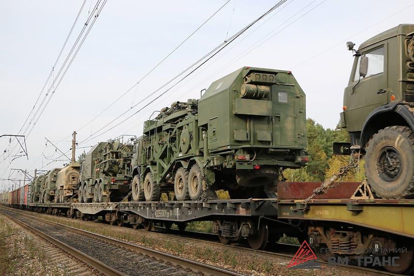 Перевозка военной техники в Новосибирске