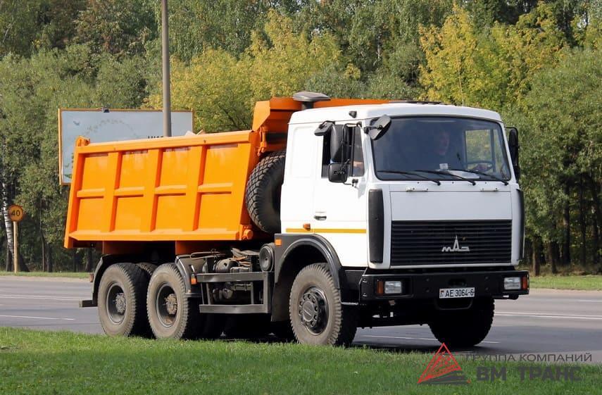 Перевозка грузового автомобиля МАЗ в Новосибирске