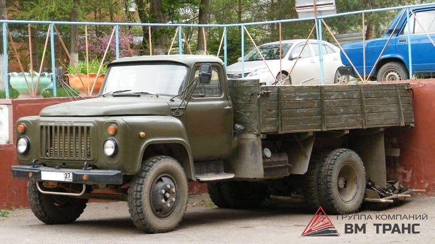 Перевозка грузового автомобиля ГАЗ в Новосибирске