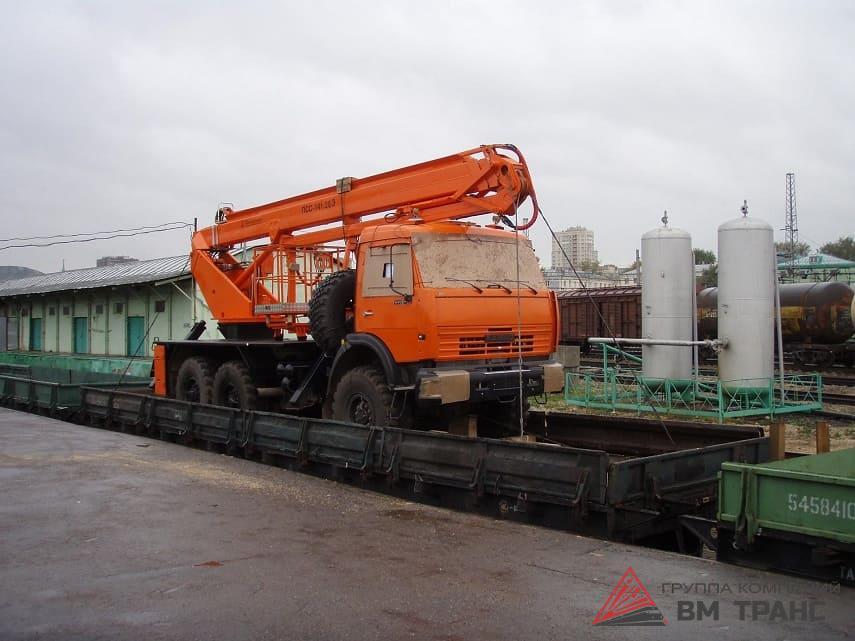 Перевозка грузового автомобиля КамАЗ в Новосибирске