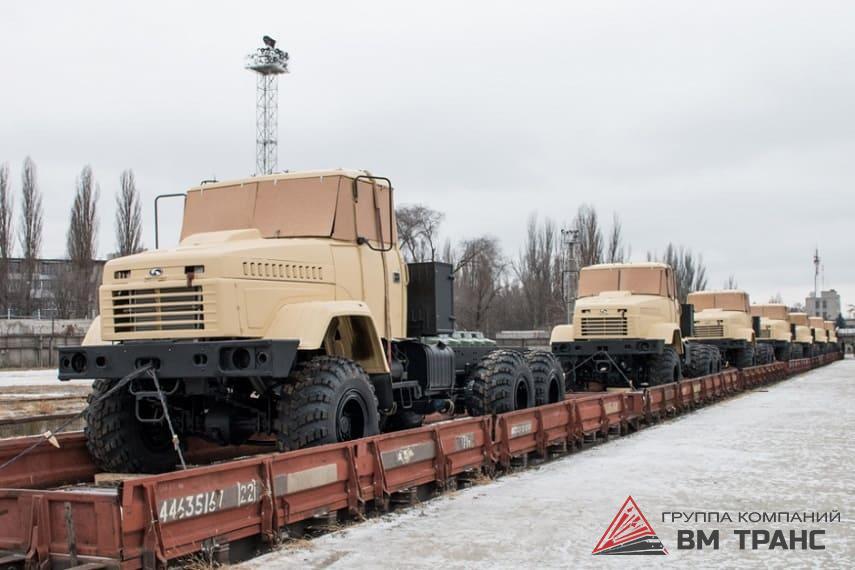 Перевозка грузового автомобиля КрАЗ в Новосибирске
