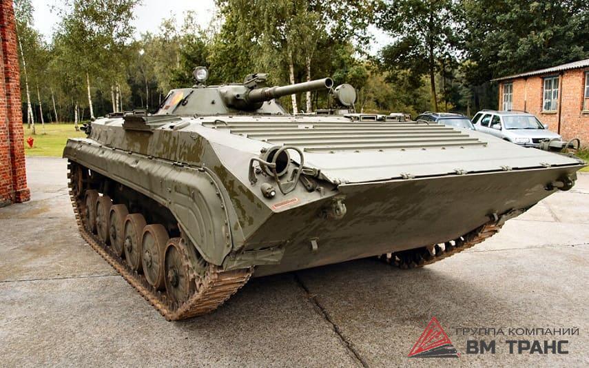 Перевозка боевых машин пехоты в Новосибирске