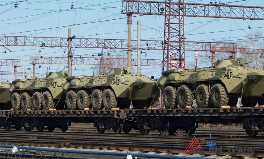 Перевозка бронетранспортёров в Новосибирске