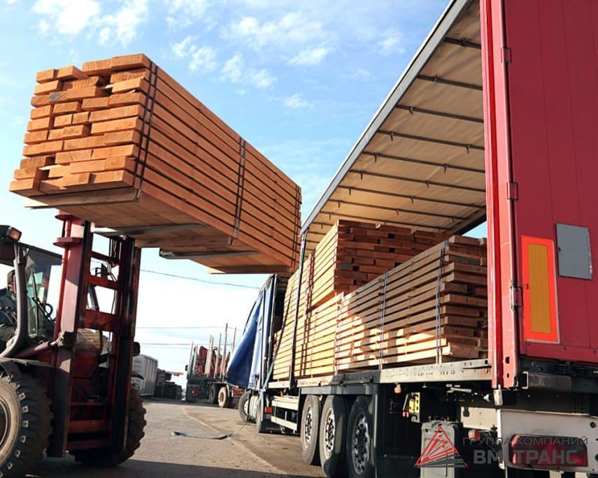Перевозка досок в Новосибирске