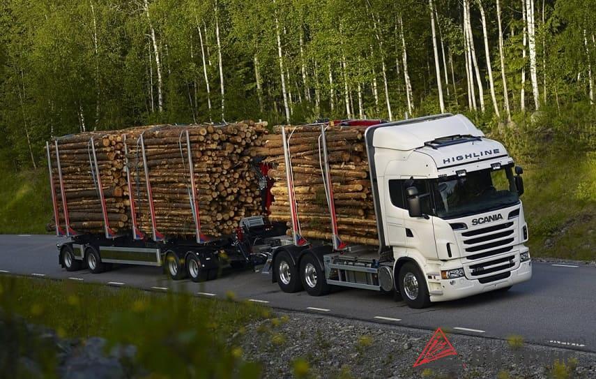 Перевозка древесины в Новосибирске