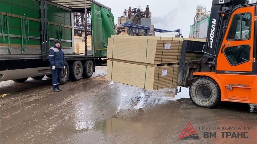 Перевозка ДСП в Новосибирске