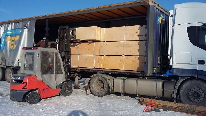 Перевозка фанеры в Новосибирске