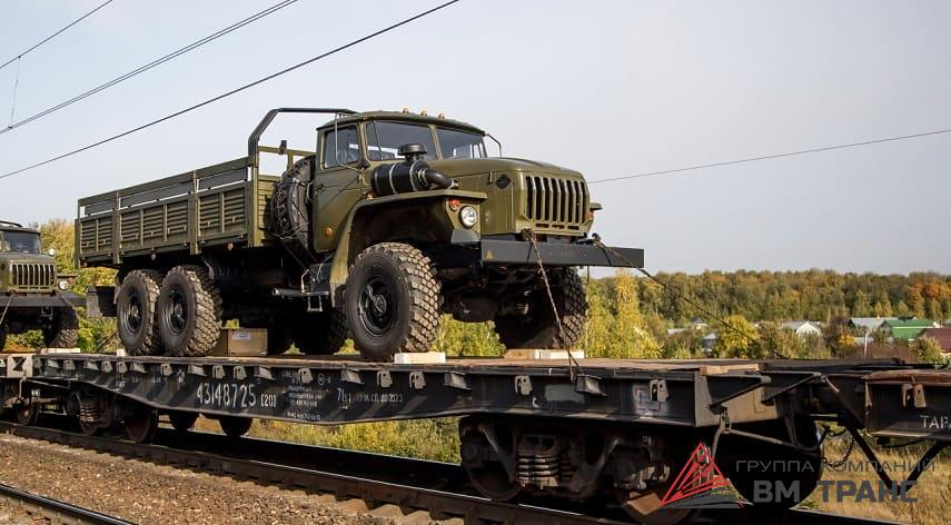 Перевозка грузового автомобиля Урал в Новосибирске