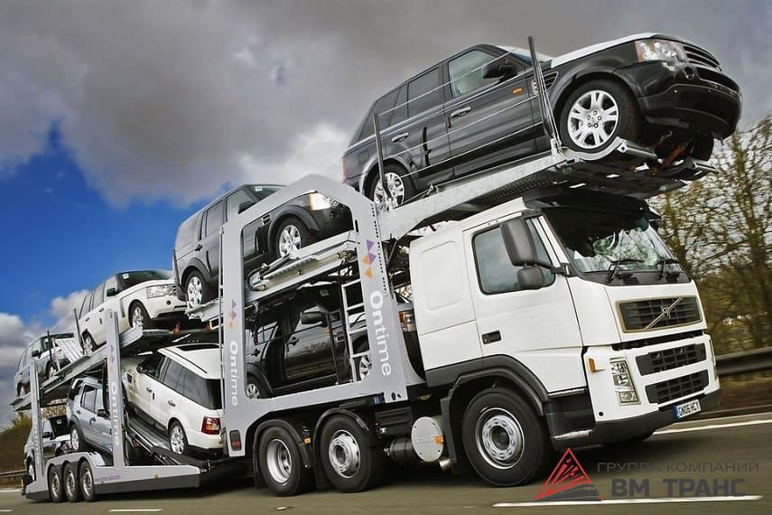 Перевозка легкового автомобиля в Новосибирске