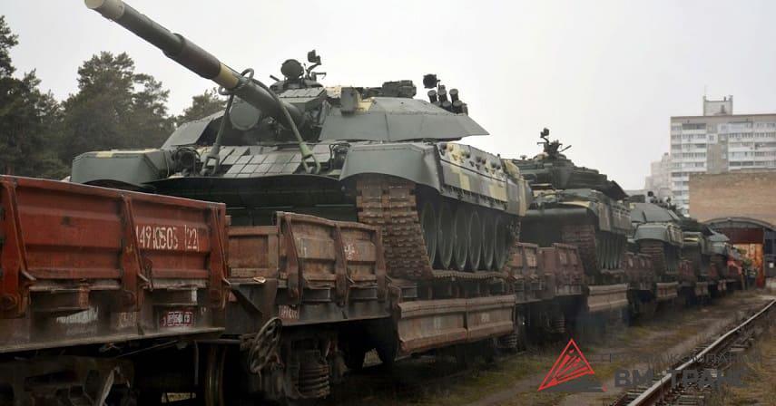 Перевозка танков в Новосибирске