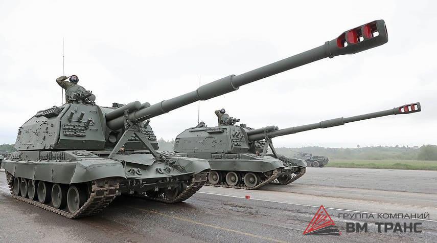 Перевозка самоходных артиллерийских установок в Новосибирске